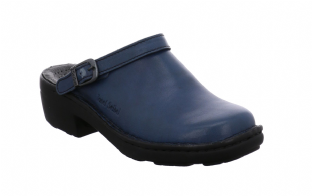 Josef Seibel Betsy Abisso Blue Leather Womens Shoes